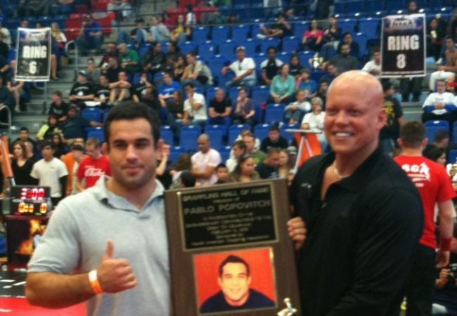 Popovitch makes Grappling Hall of Fame