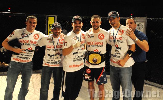 Robichaux's pupil wins MMA title