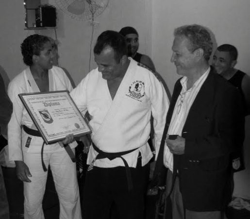 A aula de Jiu-Jitsu e MMA de um pupilo de Carlson