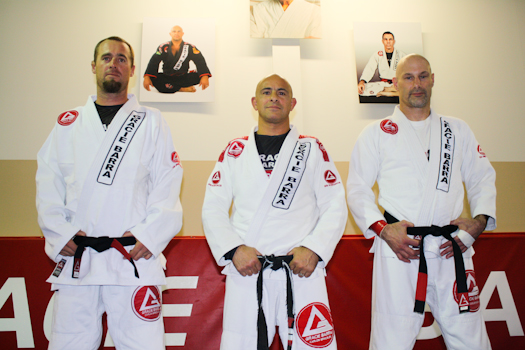 Guimaraes promotes his first black belts