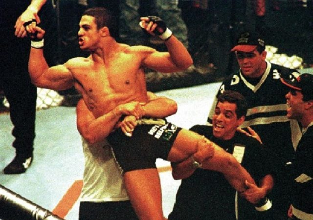 Remember the first UFC in Brazil