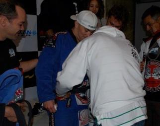Beauregard turns black belt