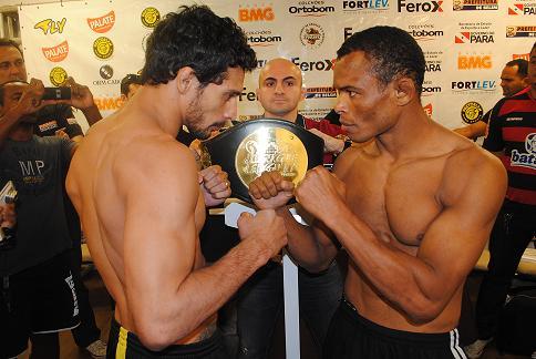 Adriano Martins no Jungle Fight na Mangueira