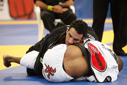 Take a private class and learn this armbar taught by Braulio Estima