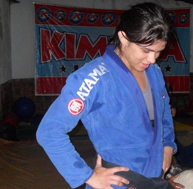 Brazilian Claudia Gadelha is one of the athletes to join the UFC's 115lb female divison