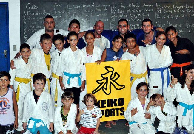 Projeto social lança os judocas do futuro