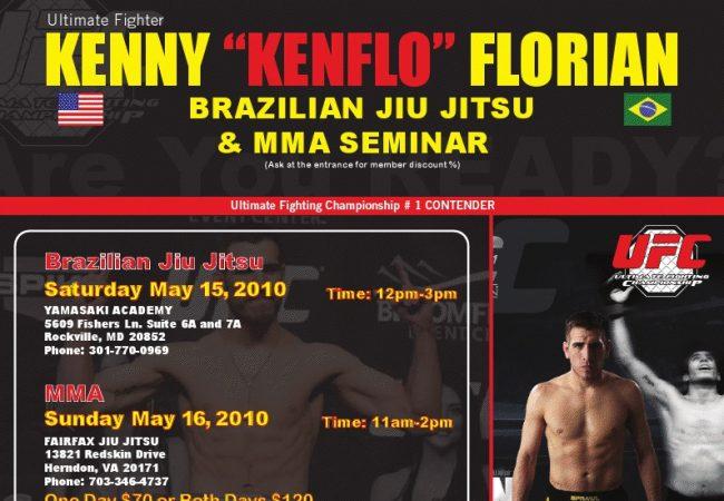 Kenny Florian seminar at Yamasaki