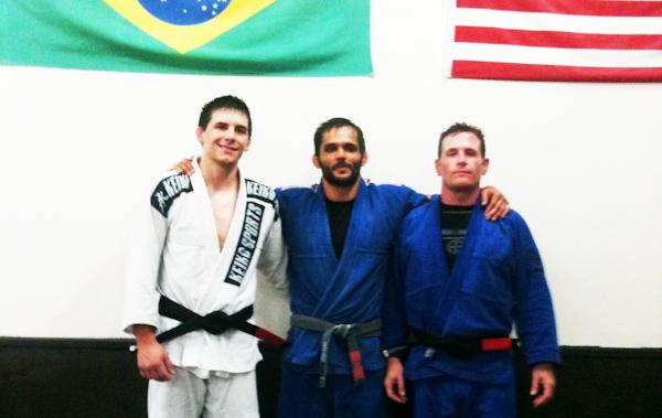 Cassio Werneck promotes five black belts