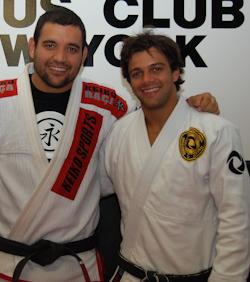 Robson Moura at Lotus BJJ NYC