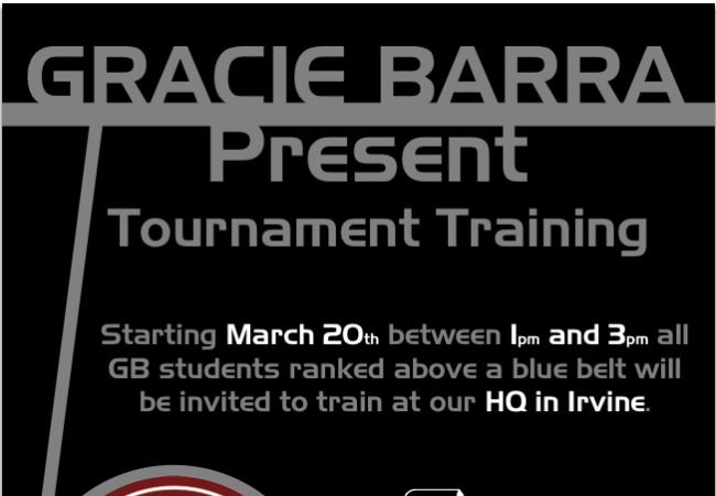 Here comes Gracie Barra