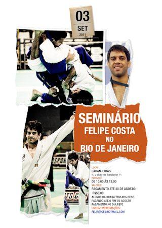 Felipe Costa seminar in Rio