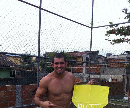 Rodolfo Vieira dono também dos céus do Rio
