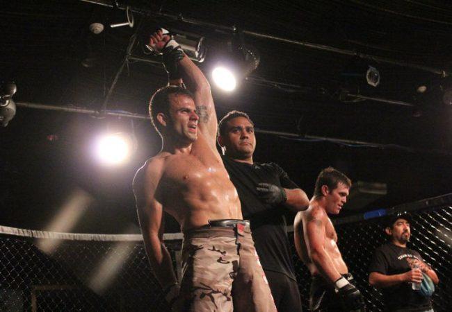 Carlos Lemos again victorious at MMA