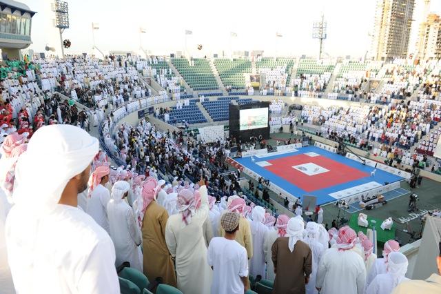 Comece a se preparar para lutar em Abu Dhabi