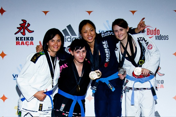 The women take to the mats in Las Vegas