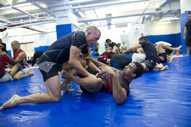 A given Monday in NYC with GSP, Roger, Renzo, Barral, Gregor…