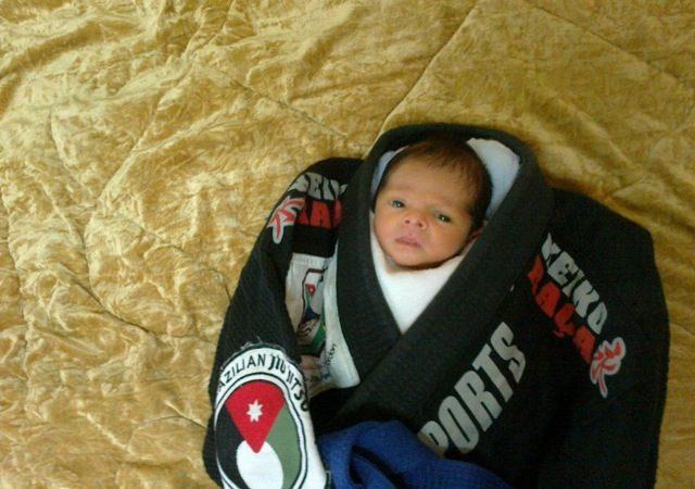 O mais novo lutador da Jordânia