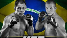 Minotauro and Cigano hand out autographs this Tuesday in Rio de Janeiro