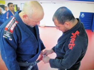 Black belt Chuck Anzalone turns 1st degree