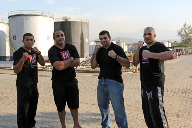 MMA aces inaugurate goodwill gym in Rio this Thursday