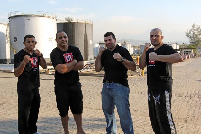 Craques de MMA refinado inauguram CT em Manguinhos, nesta quinta