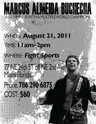 Bochecha seminar at Fight Sports Miami