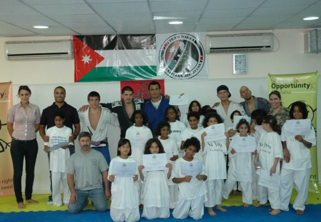 Jiu-Jitsu for orphan girls in Jordan