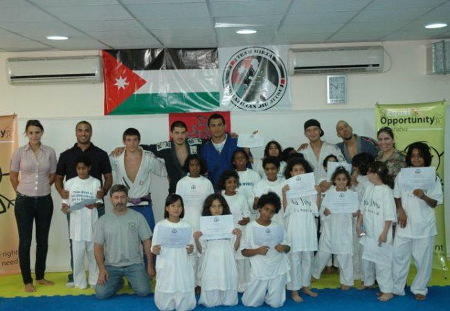 Jiu-Jitsu for orphan girls in Jordan