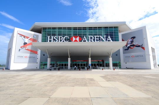 O palco do Grand Slam de Jiu-Jitsu. Foto: Divulgação.