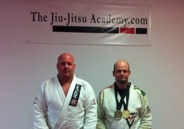 Bruce Shepherd proud of one of his purple belts
