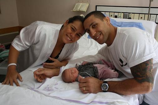 Abi-Rihan is Jiu-Jitsu's latest dad