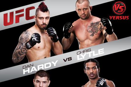 UFC on Versus 5 tem show de Jiu-Jitsu e finalizações