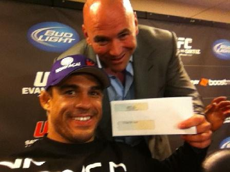 "Belfort: ""Brazil, get ready, the UFC's going to surpass soccer!"""