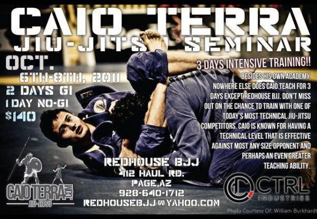 Redhouse BJJ welcomes Caio Terra