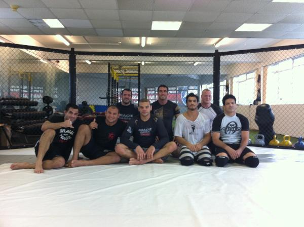 Dream Team trains for ADCC
