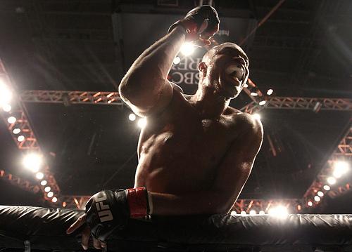 Anderson Silva ficou sete anos sem perder no MMA. Foto: UFC/Divulgação
