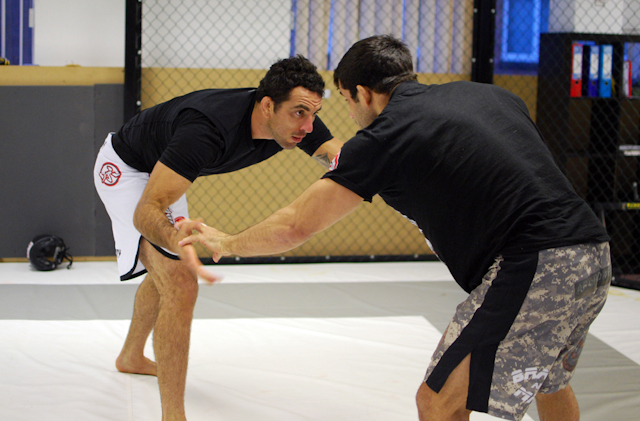 Estima and Popovitch train for ADCC together