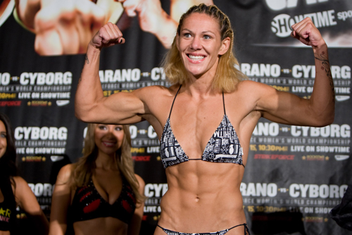 Invicta FC: Cris Cyborg to fight at 135lb on Dec. 5; Rousey fight closer