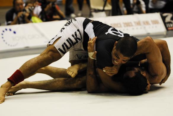 Watch Galvão, Barral prepare for the ADCC