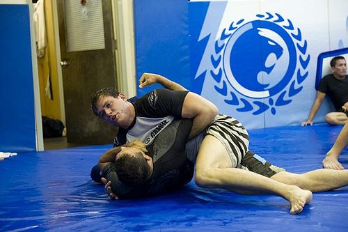 Would you be unworried about Roger's Jiu-Jitsu?