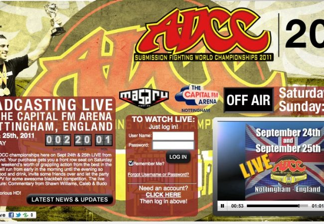 Watch ADCC live on Budo Videos