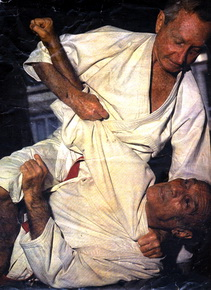 Carlos e Helio Gracie