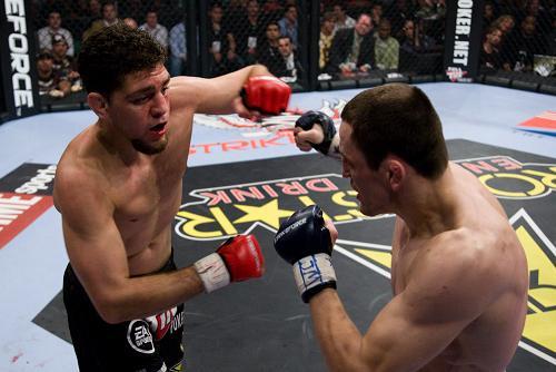 Nick Diaz fora do UFC 137, St. Pierre pega Condit