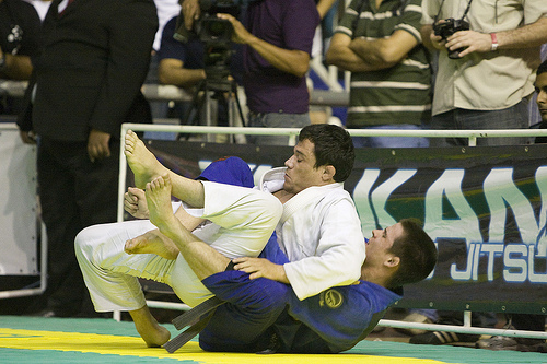 Jacob bateu Ed Ramos e deu o ouro para a GFTeam. Foto: Gustavo Aragão.