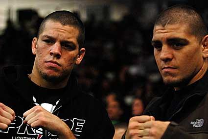 Nick Diaz aparece e ataca decisão do UFC