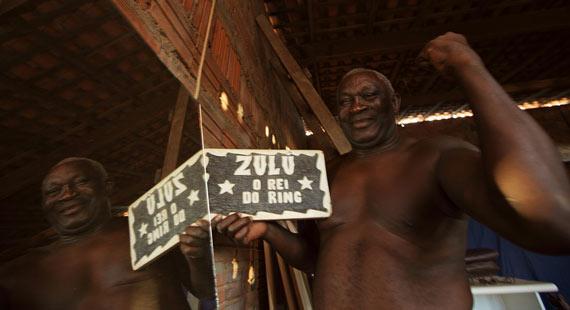 Rei Zulu em ação, diversão garantida