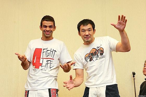 Yan finaliza Sakuraba no Dream; Aoki também usa o Jiu-Jitsu