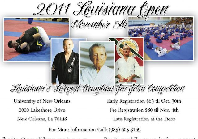 2011 Louisiana Open around the corner