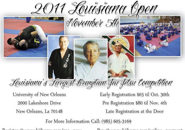 2011 Louisiana Open around the corner