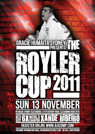 Go for the gold at Royler Gracie Cup